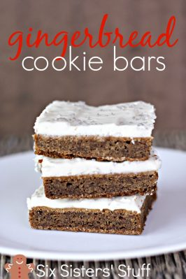Gingerbread Cookie Bars Recipe