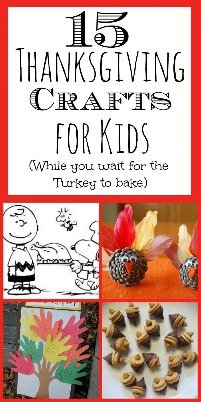 Kid's Thanksgiving Crafts (while you wait for the Turkey to cook)