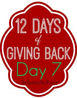 12 Days of Giving Back- Day 7: The Jones Family