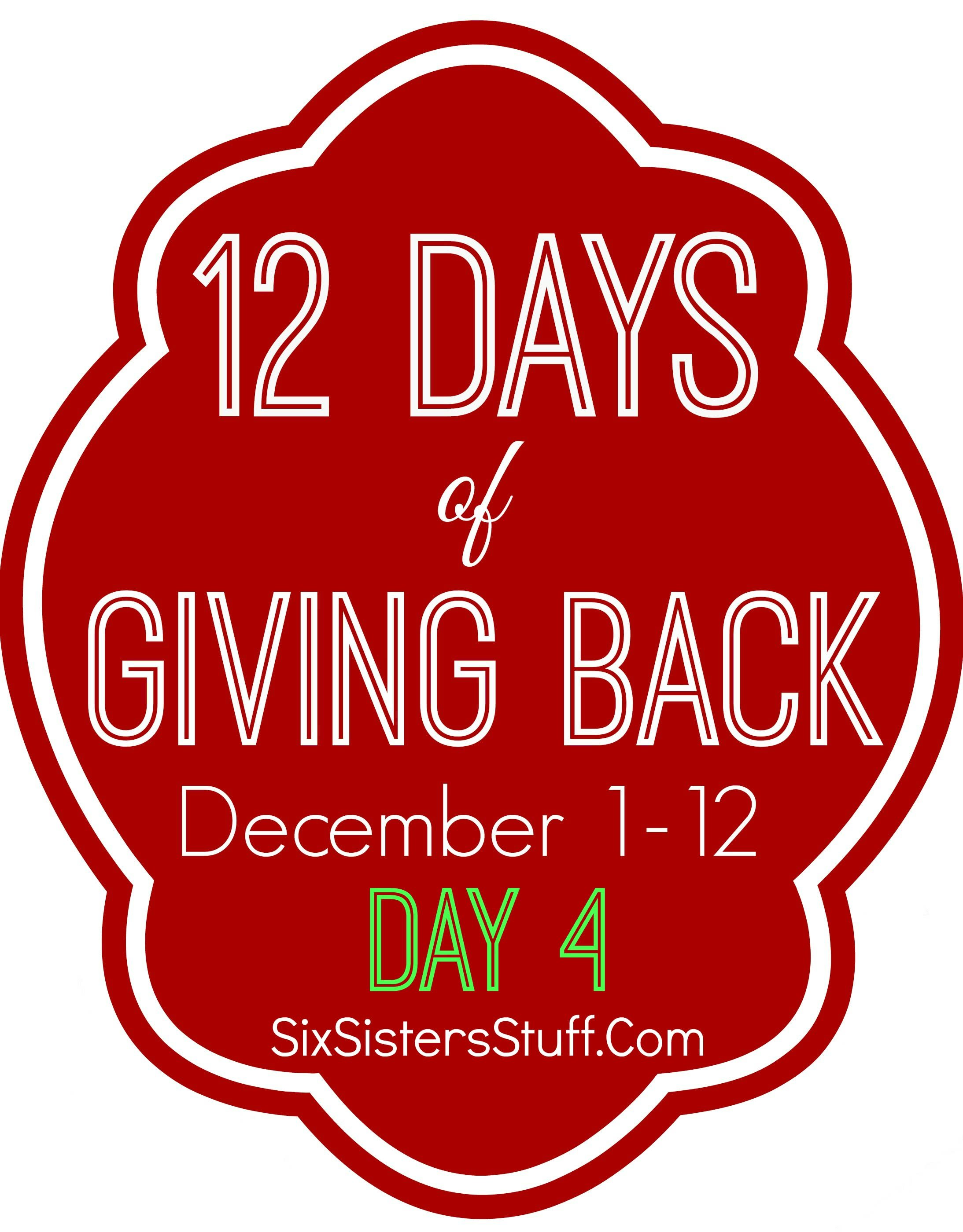 12 days of giving back 4