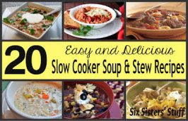 Fresh Food Friday: 20 Slow Cooker Soup and Stew Recipes