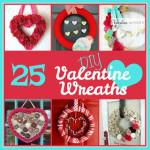 25 DIY Valentine Wreaths