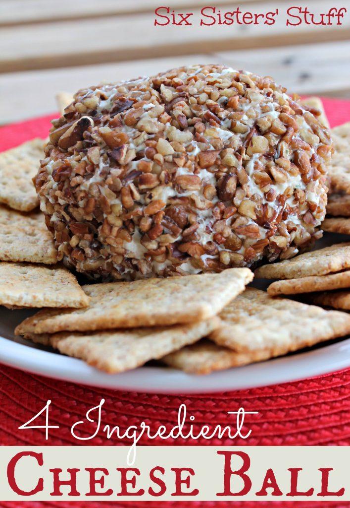 4 Ingredient Cheeseball – Six Sisters' Stuff