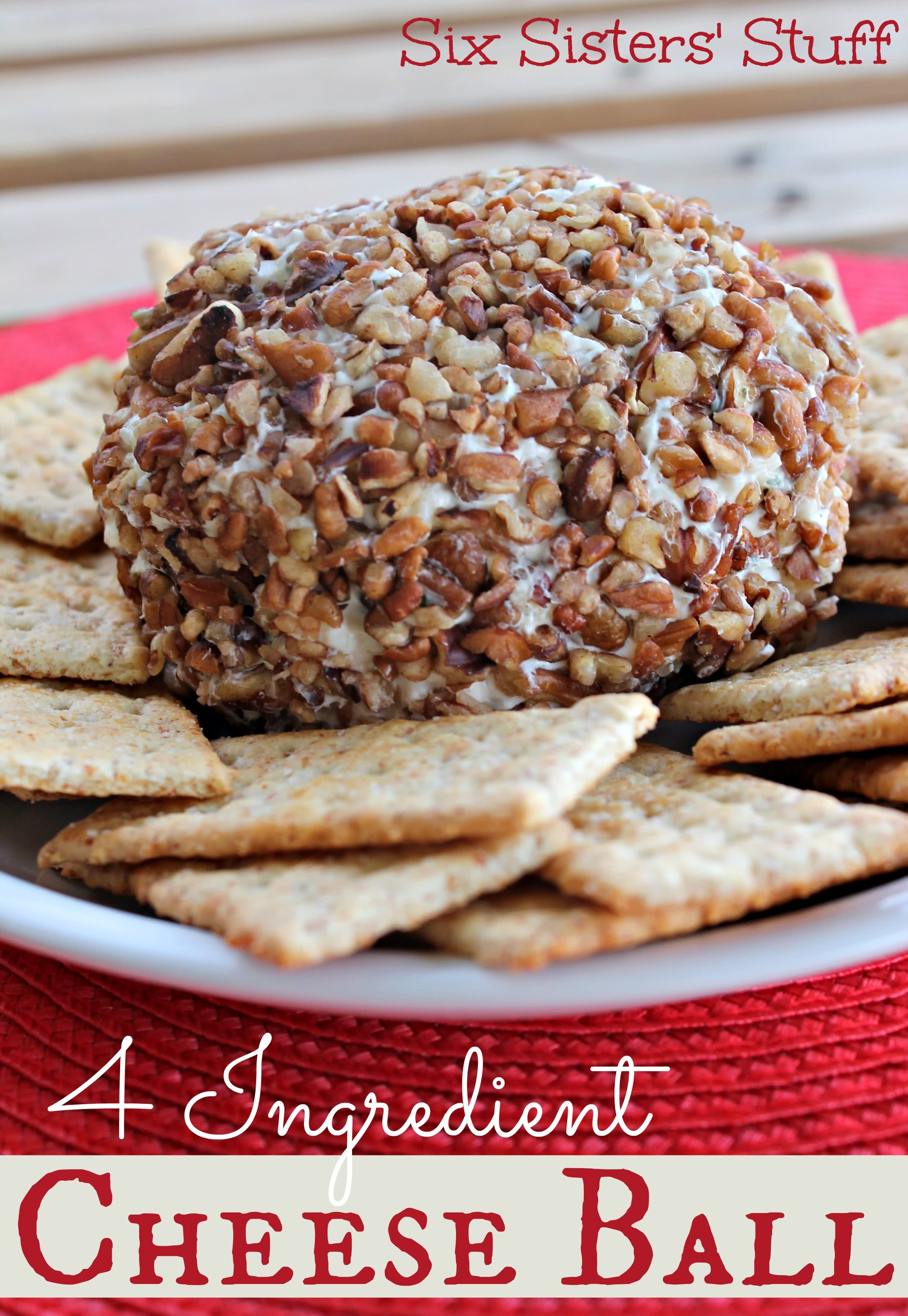 4 Ingredient Cheeseball