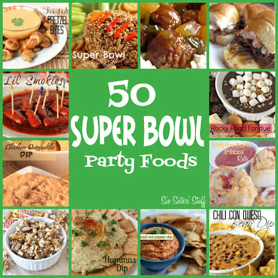 50 Super Bowl Party Foods