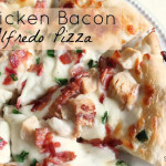 Chicken Bacon Alfredo Pizza Recipe