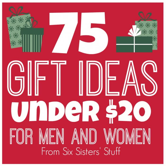 75 Gift Ideas Under $20 for Men and Women