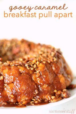 Gooey Caramel Breakfast Pull-Apart