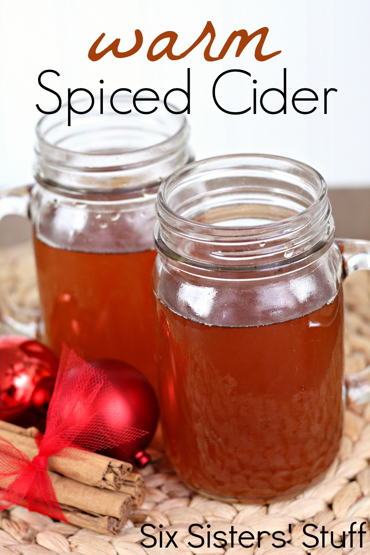 Grandma's Warm Spiced Cider Recipe