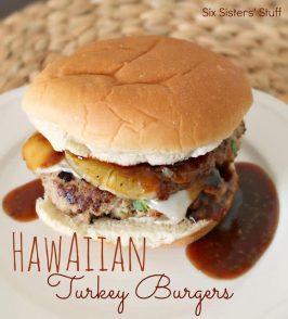 Hawaiian Turkey Burgers Recipe