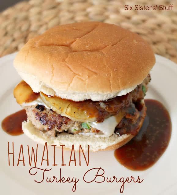Hawaiian-Turkey-Burgers