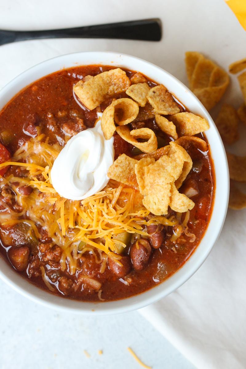 Slow Cooker Texas Chili Recipe