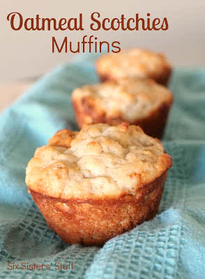 Oatmeal Scotchies Muffins Recipe