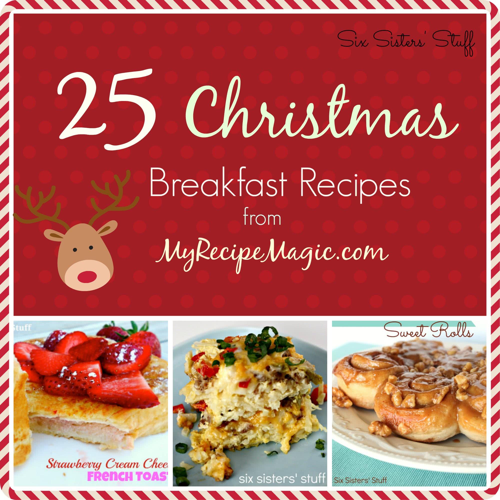 25 Christmas Breakfast Recipes from My Recipe Magic