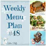 Six Sisters' Weekly Menu Plan #48