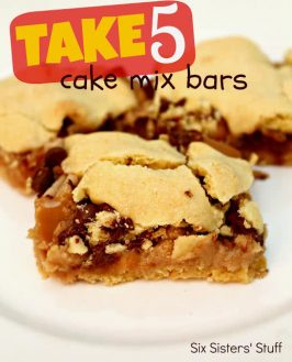 Take 5 Cake Mix Bars Recipe