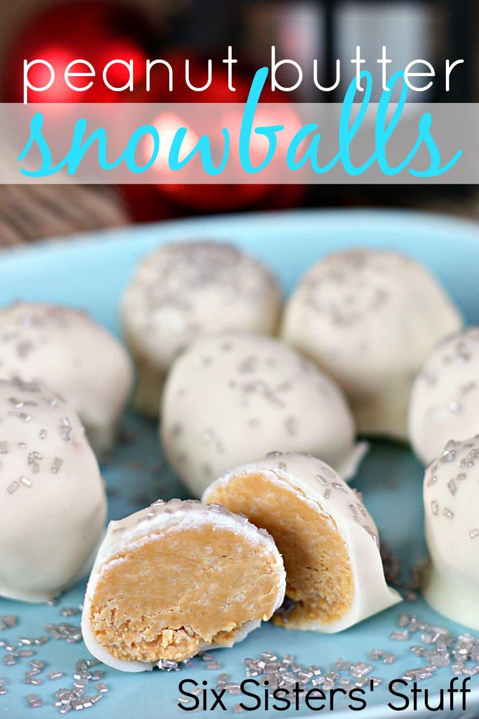 Peanut Butter Snowballs Recipe