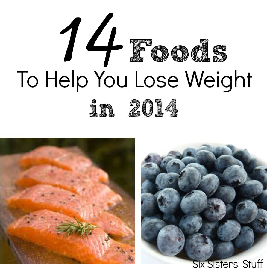 14 foods to help you lose weight in 2014 | six sisters' stuff