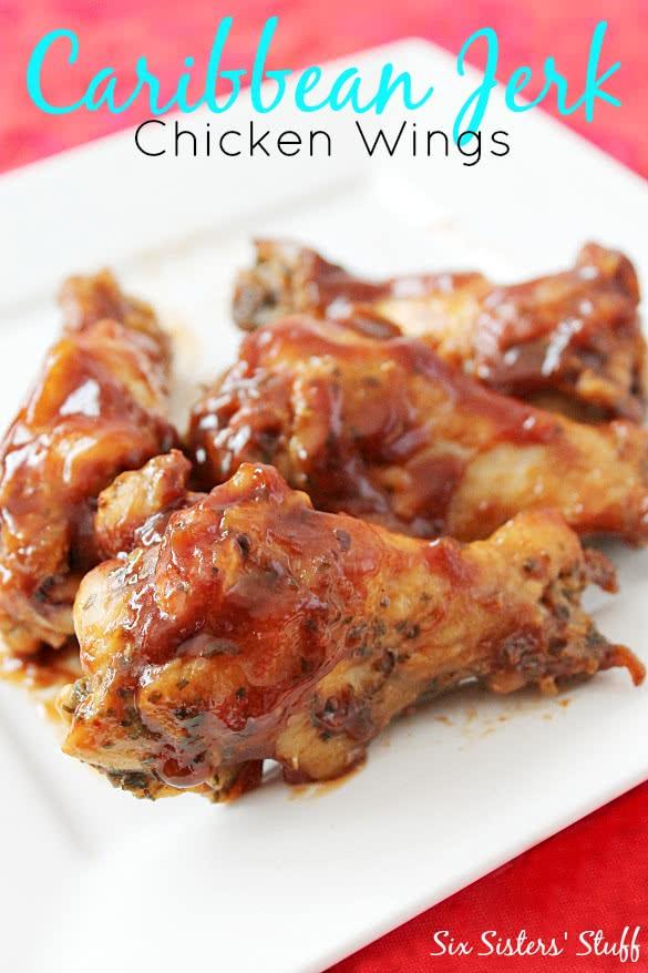 Caribbean Jerk Chicken Wings Recipe