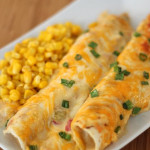 Cheesy-Chicken-Enchiladas-Recipe