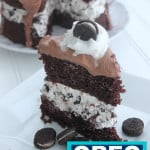 Chocolate Oreo Cookie Cake Recipe