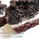 Easy Cookies n' Cream Ice Cream Cake Recipe