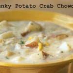 Crab chowder