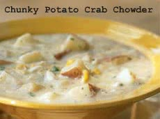 Healthy Meals Monday: Chunky Potato Crab Chowder