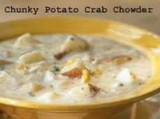Healthy Meals Monday: Chunky Potato Crab Chowder