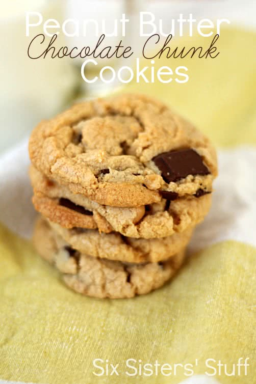 Peanut Butter Chocolate Chunk Cookies Recipe