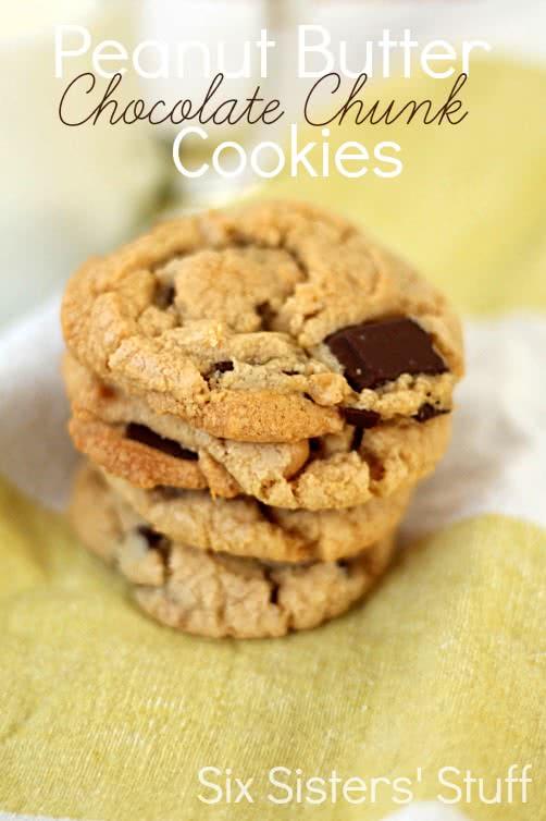 Peanut-Butter-Chocolate-Chunk-Cookies