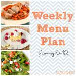 Weekly Menu Plan January 6-12