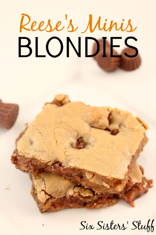 Mini Reese's Blondies Recipe