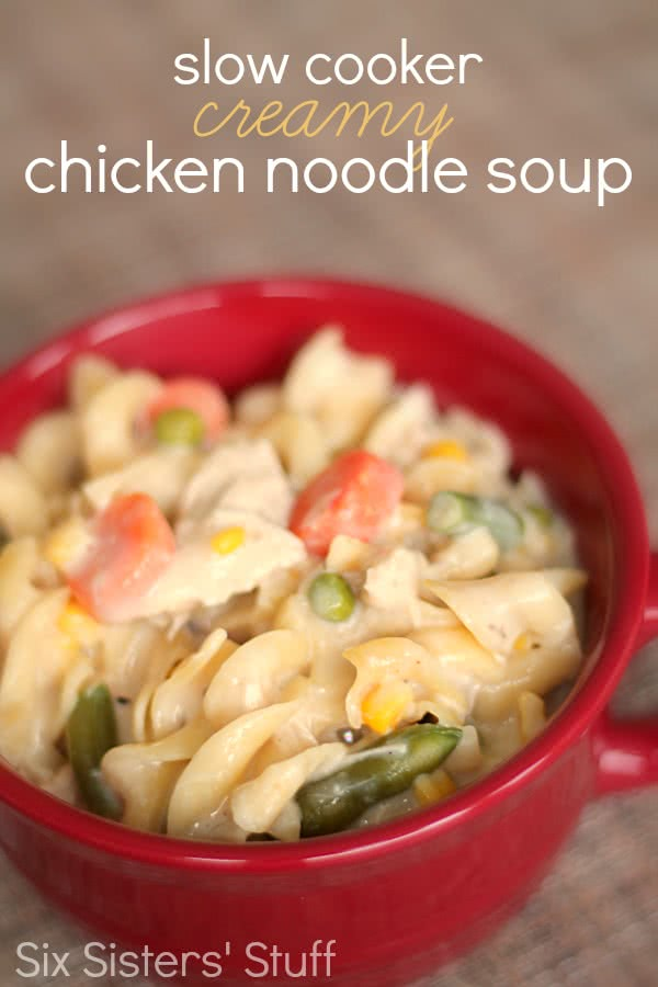 recipe: creamy chicken noodle soup slow cooker [17]