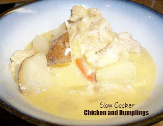 Healthy Meals Monday: Slow Cooker Chicken and Dumplings