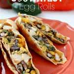 Baked Southwest Egg Rolls
