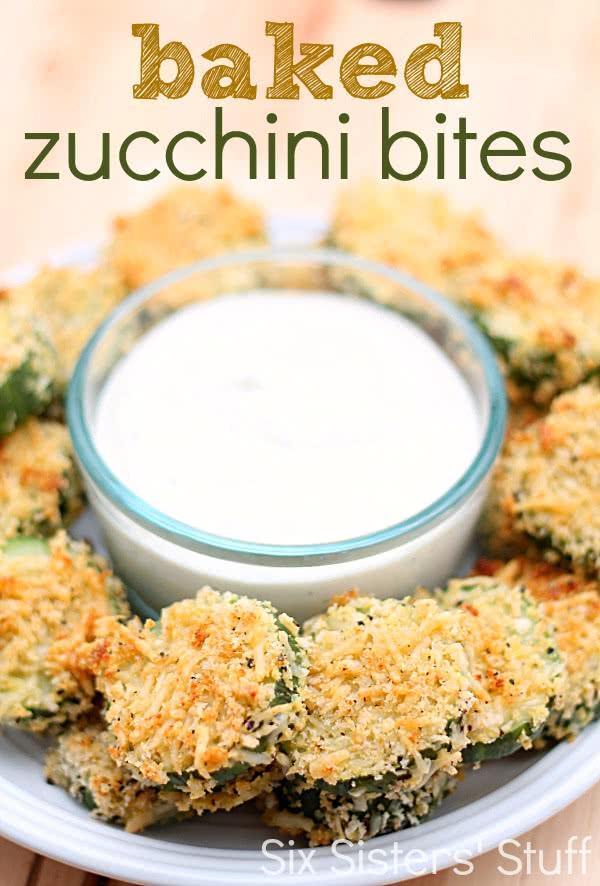 Baked Zucchini Bites Recipe