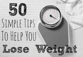 50 Simple Tips to Help You Lose Weight