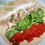 Healthy Meals Monday: Chicken Lime Soft Tacos