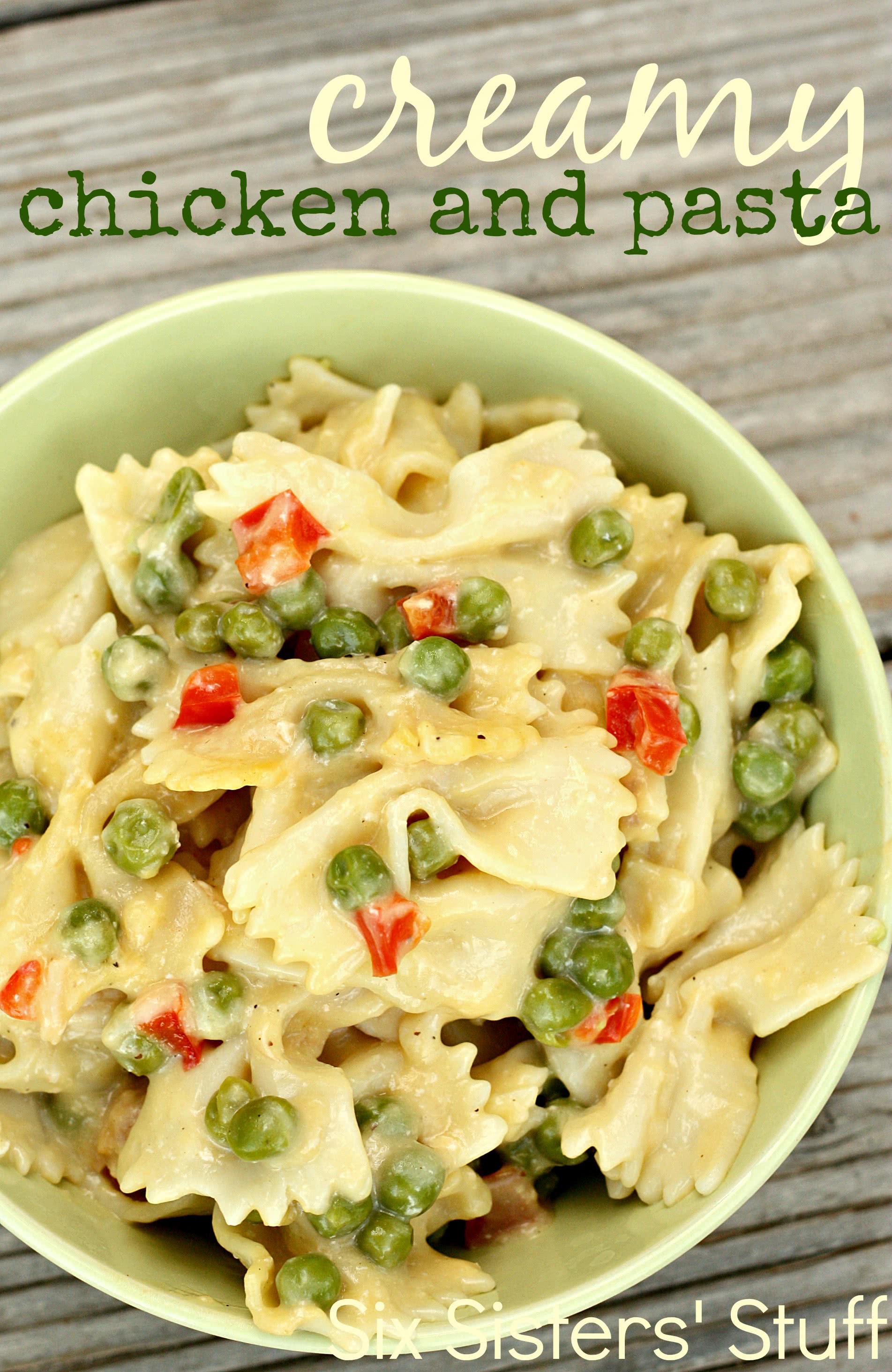 Creamy Chicken and Pasta Recipe