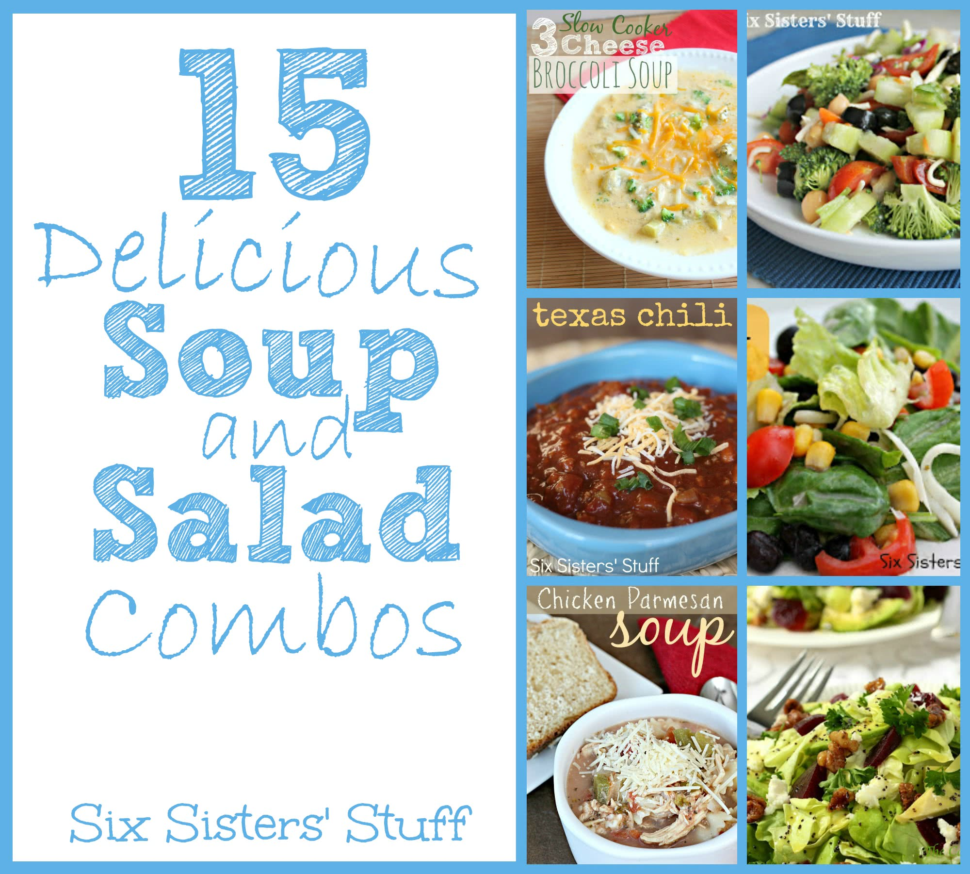 15 Delicious Soup and Salad Combos