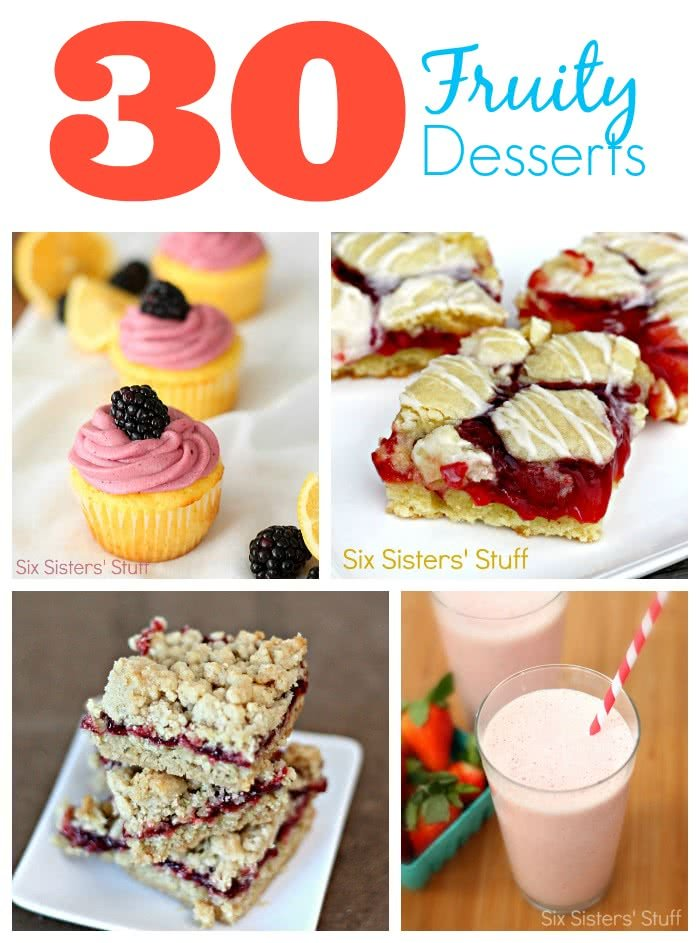 30 Fruity Desserts