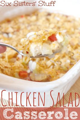 Hot Chicken Salad Casserole Recipe