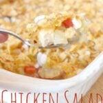 Chicken salad Casserole