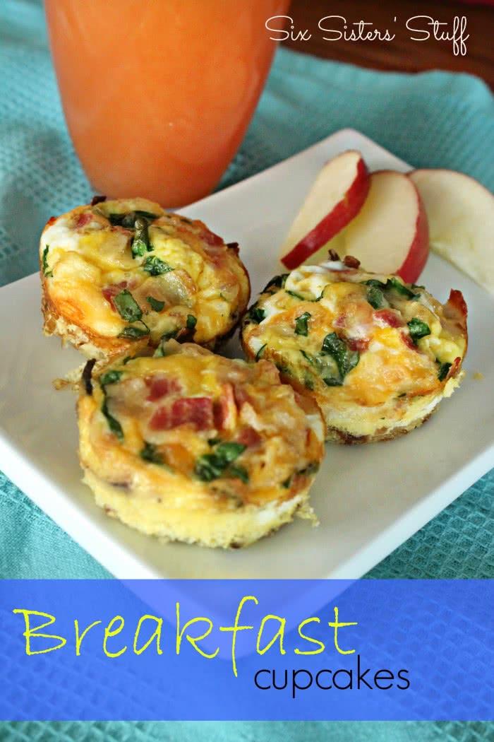 Breakfast Cupcakes Recipe