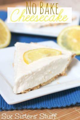 Delicious No Bake Cheese Cake