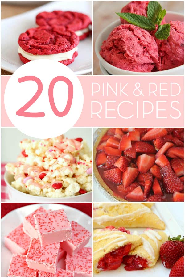 20 Pink and Red Recipes Perfect for Valentine's Day