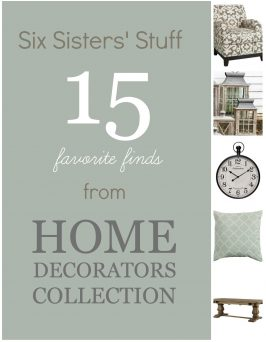 Six Sisters' Stuff 15 Favorite Finds from Home Decorators Collection