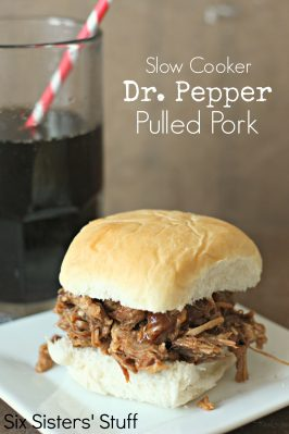 Slow Cooker Dr. Pepper Pulled Pork Recipe
