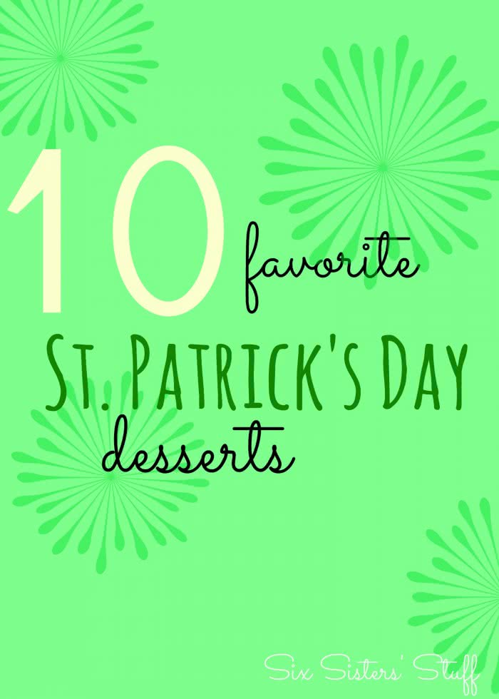 10 Favorite St. Patrick's Day Desserts
